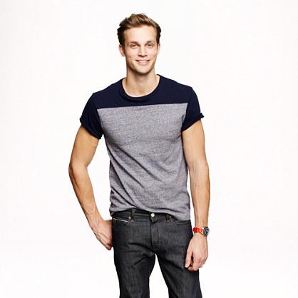 Slim flagstone football T-shirt