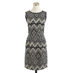 Petite diamond ikat dress