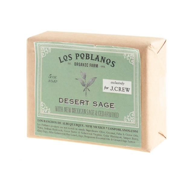 Los Poblanos™ desert sage soap
