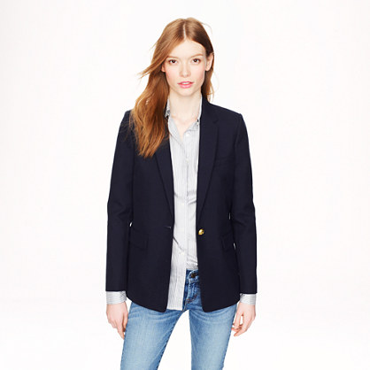 Collection Rylan blazer in Italian wool-cotton