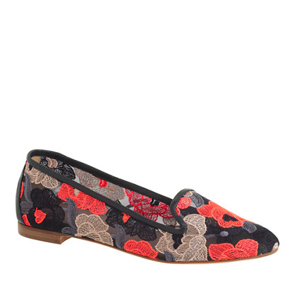 Cleo eyelet loafers