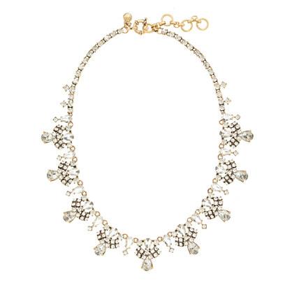 Crystal garland necklace