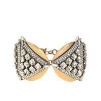 Crystal triangles bracelet