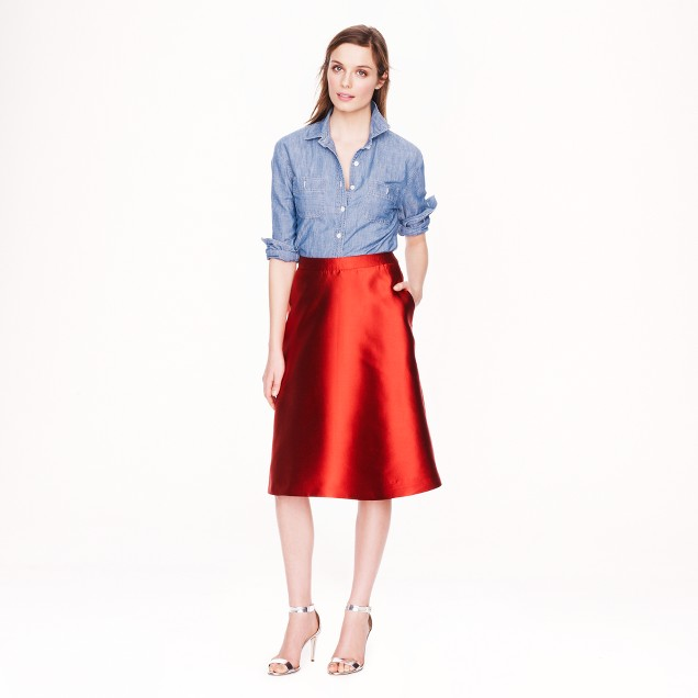 Collection circle skirt
