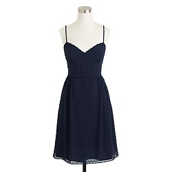 Cameron dress in swiss-dot