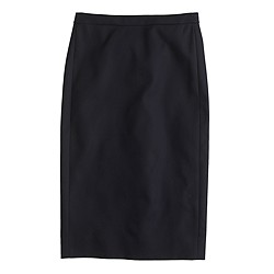 Petite No. 2 pencil skirt in cotton twill