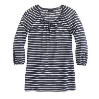 Beach tunic in stripe