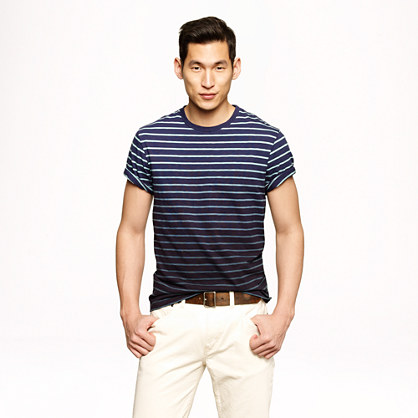 Deck-stripe T-shirt