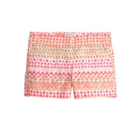 Girls' Frankie short in geometric floral