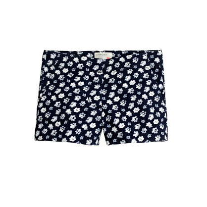 Girls' Frankie short in blurred floral