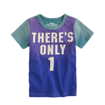 Boys' there's only 1 tee