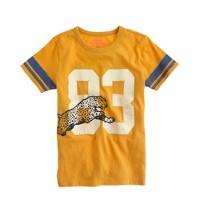 Boys' cheetah tee