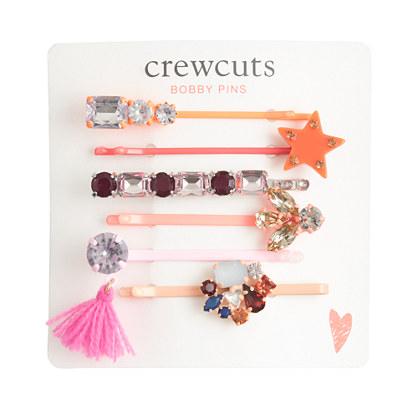 Girls' combo hair pin set
