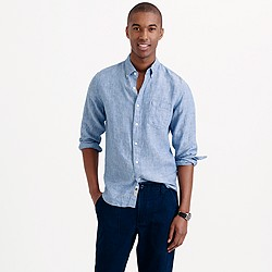 Délavé Irish linen shirt