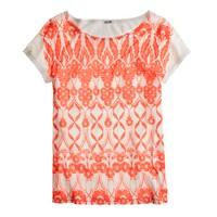 Trellis floral T-shirt