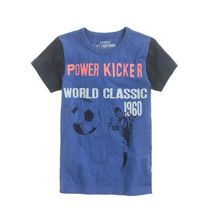 Boys' power kicker tee