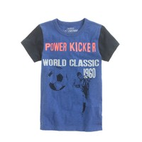 Boys' power kicker tee