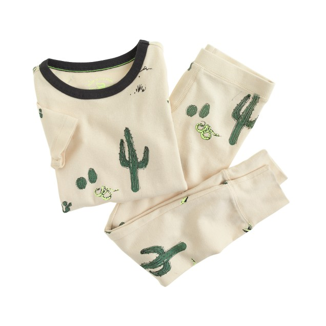 Boys' short-sleeve pajama set in UFO