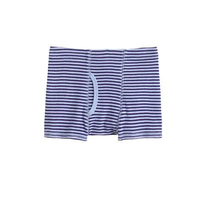 Boys' Peri stripe boxer briefs