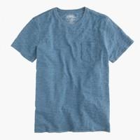 Wallace & Barnes indigo pocket T-shirt
