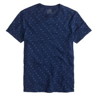 Indigo dot T-shirt