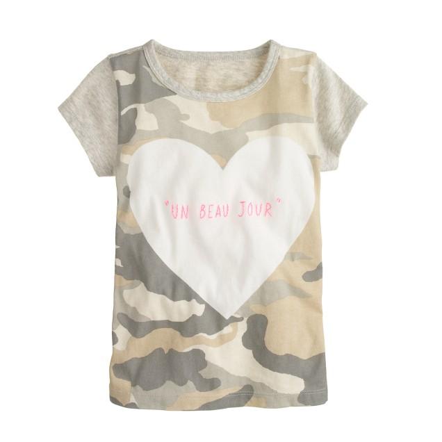 Girls' a beautiful day T-shirt