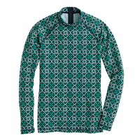 Lattice medallion rash guard