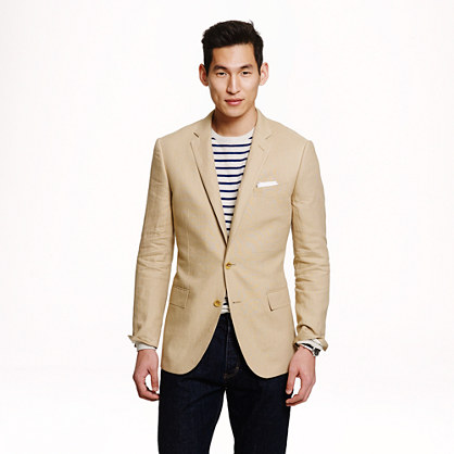 Ludlow sportcoat in Irish linen