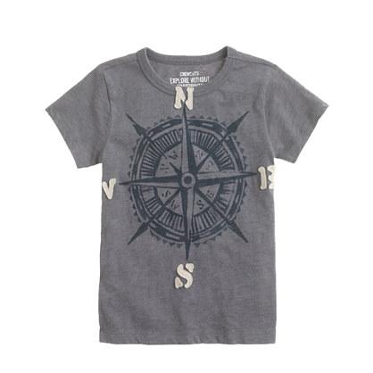 Boys' compass tee