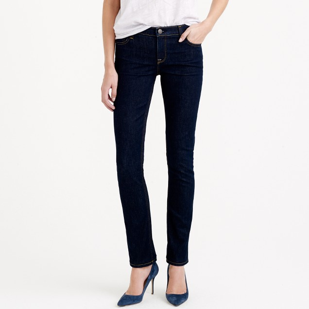 Tall matchstick jean in classic rinse