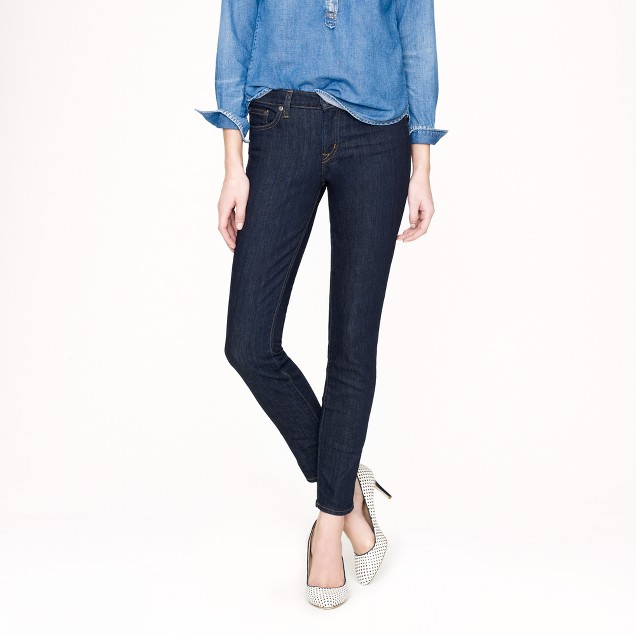 Toothpick jean in classic rinse
