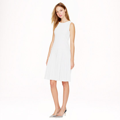 Cotton piqué dress