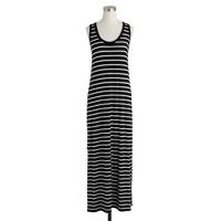 Maxi tank dress in stripe