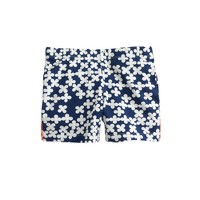 Girls' tumble short in clover