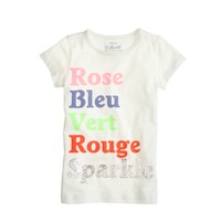 Girls' all the colors T-shirt