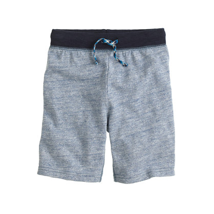 Boys' Cooper pull-on sweatshort with contrast waist