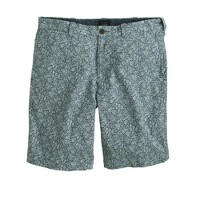 "9"" Stanton short in floral Japanese cotton"