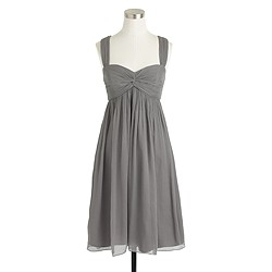 Petite Suzy dress in silk chiffon