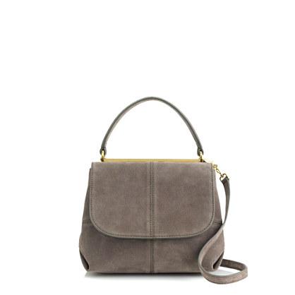 Hughes suede purse