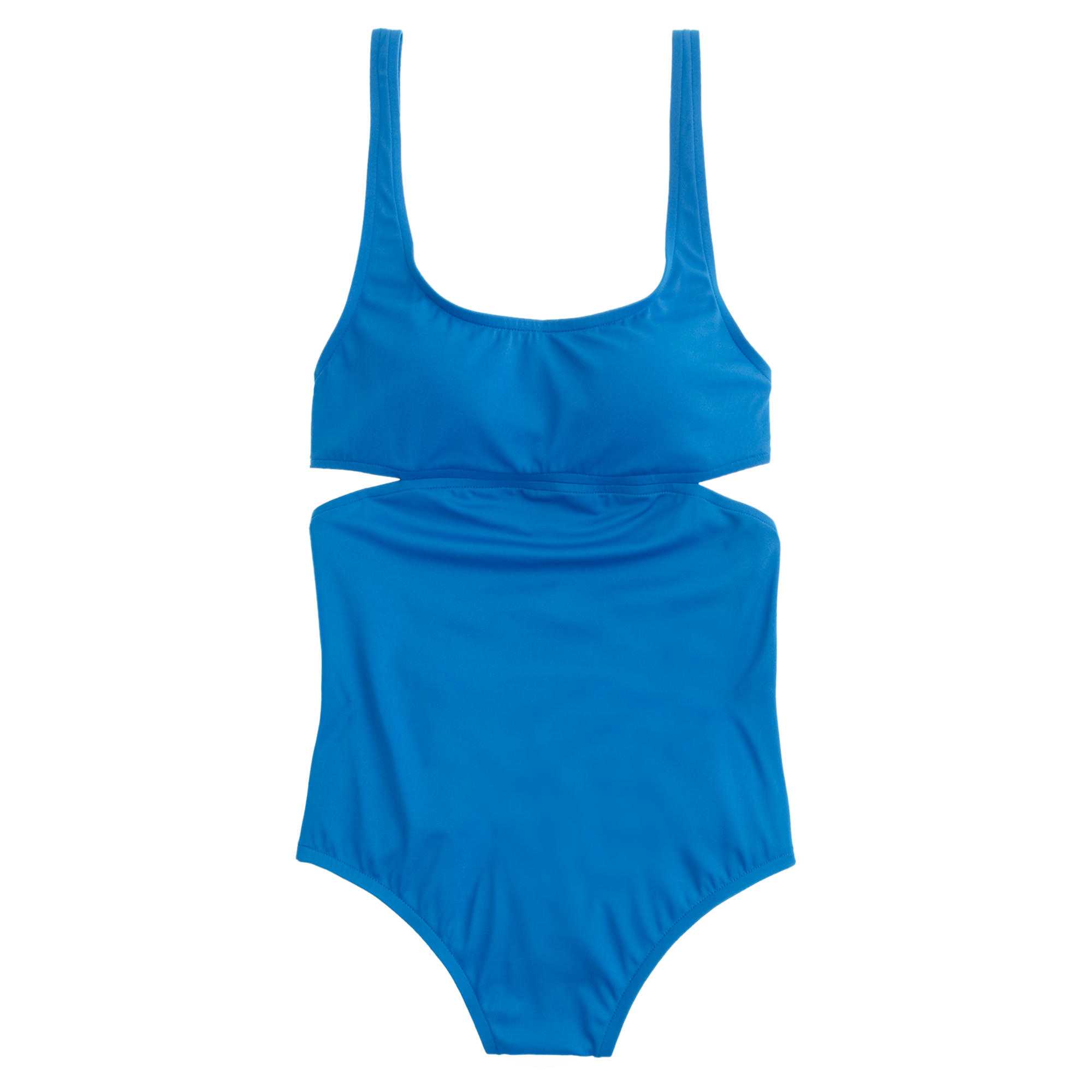 Cutout one-piece swimsuit : | J.Crew