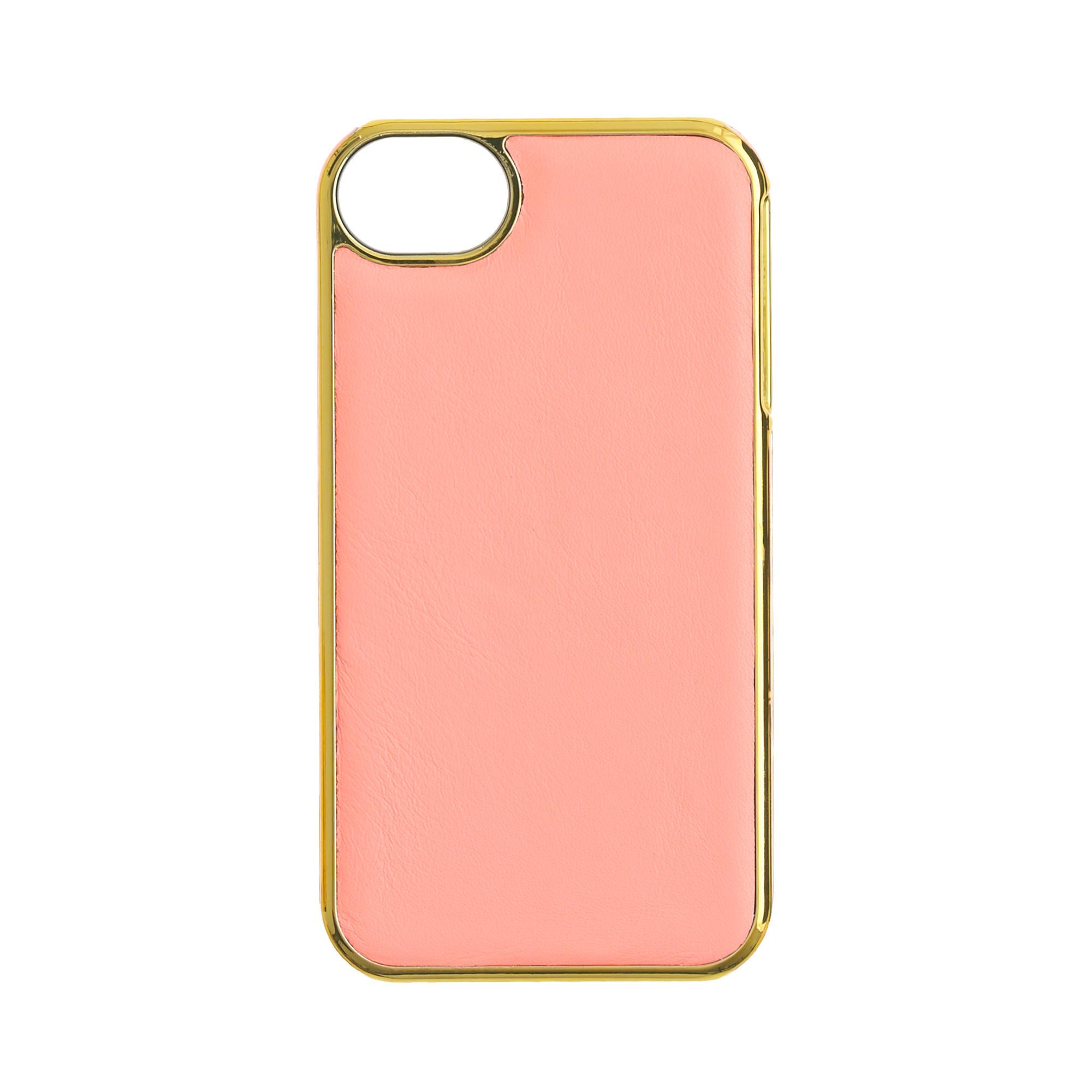 J Crew Iphone  Case Leather