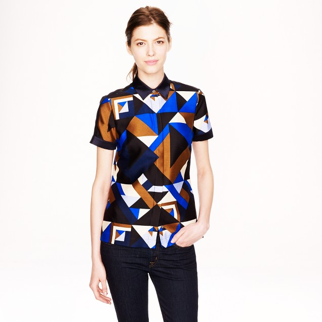 Collection Cubist print top