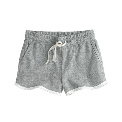 Girls' tipped pull-on short