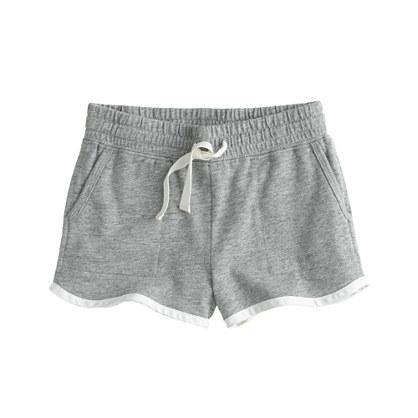 Girls' tipped pull-on short