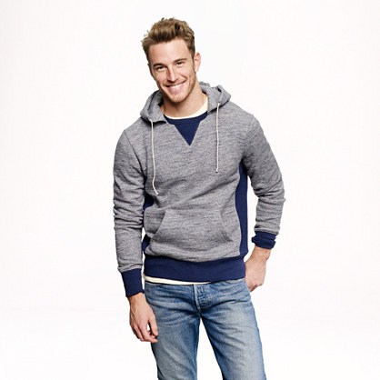 Wallace & Barnes colorblock hoodie