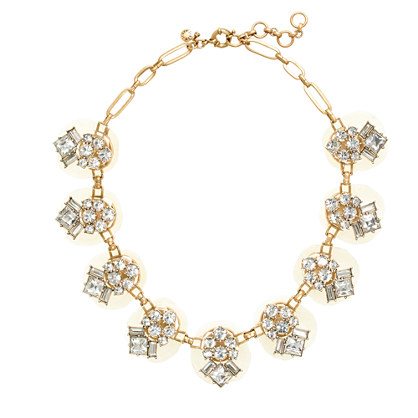 Dazzling pebble necklace
