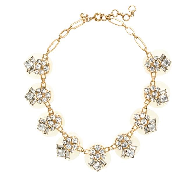 Dazzling pebble necklace : | J.Crew