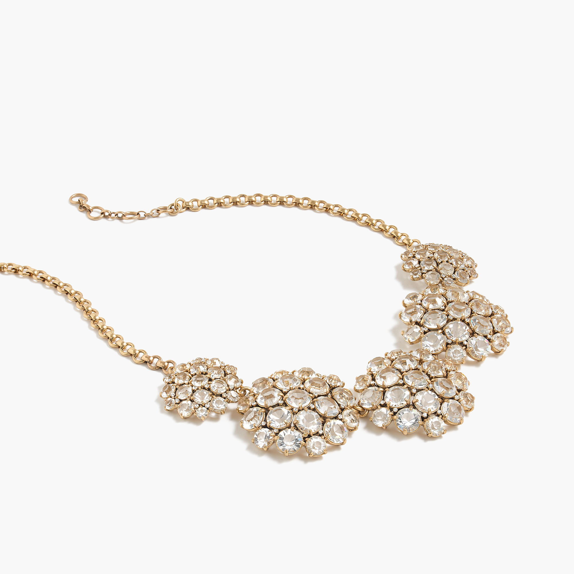 Crystal cluster necklace j crew for J crew jewelry 2015