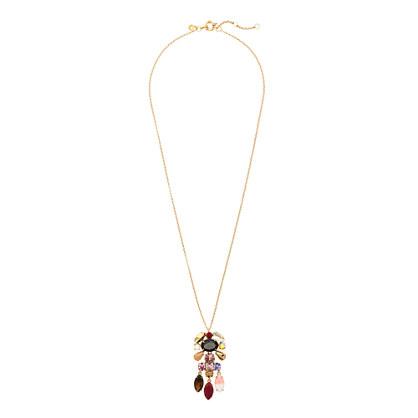 Crystal chandelier pendant necklace necklaces jew crystal chandelier pendant necklace aloadofball Gallery