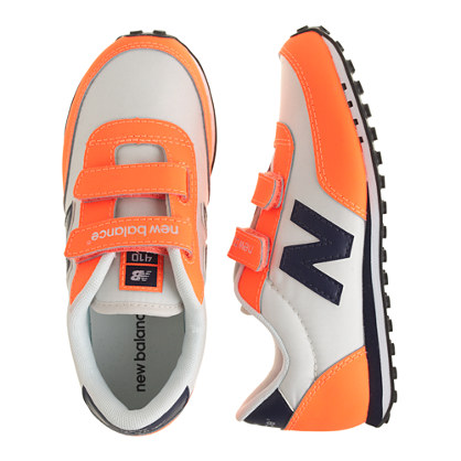 Kids' New Balance® for crewcuts KE410 Velcro® sneakers in neon orange